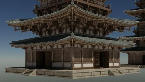 Japanese Modular Pagoda 2