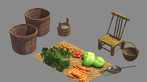 Traders - Ground Floors - Vegetables