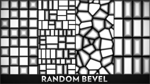 Random Bevel - Substance Designer Node