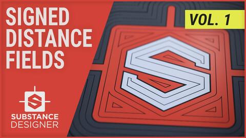 Substance Designer • Signed Distance Fields Vol.1