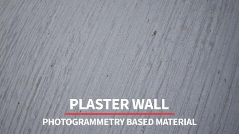 Plaster Wall | 8K Photogrammetry Based Material