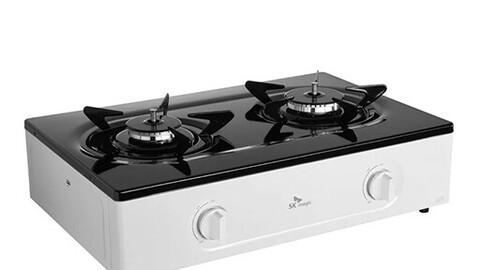 Eco 2-hole gas stove gas range GRA-850SR