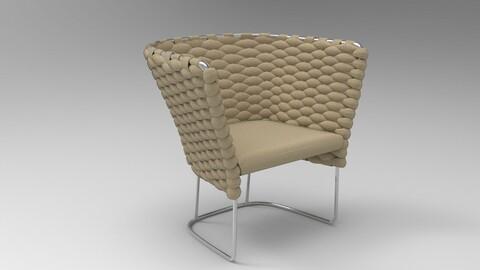 Paola Lenti Ami Chair Sand