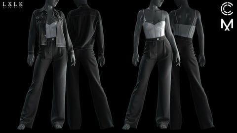 Perfect fit pants for Genesis8 Female
