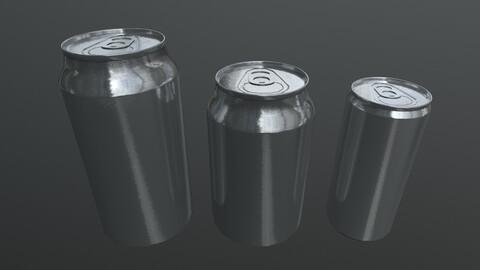 Aluminium Can model