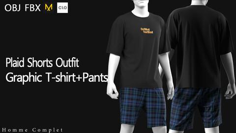Men's Plaid Shorts Outfit