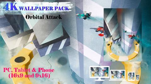 Orbital Attack 4K Wallpaper Pack