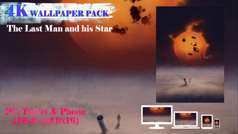 The Last Man and his Star 4K Wallpaper Pack