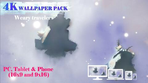 Weary Travelers 4K Wallpaper Pack