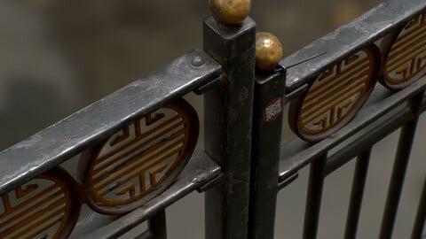 Ornate Fence Post - Substance Painter