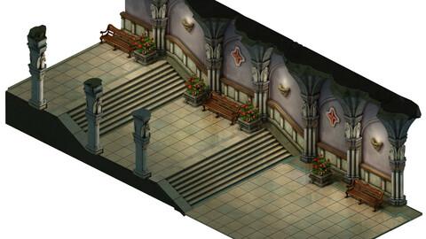 Church Hospital - Corridor Vestibule