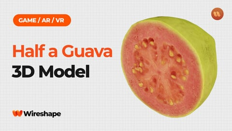 Half a Guava - Real-Time 3D Scanned