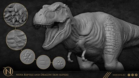 Noya Reptile and Dragon Skin Alphas/VDM Brushes/IMM Brushes/Sculpt Brushes/Xtractor Brushes