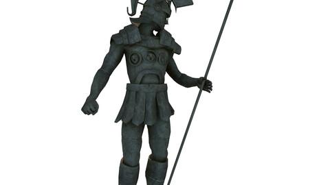 Roman Hero - Statue of Soldier