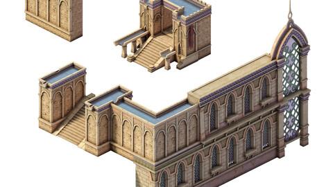 Muslim - palace wall 01