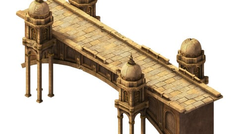 Muslim - stone bridge 01