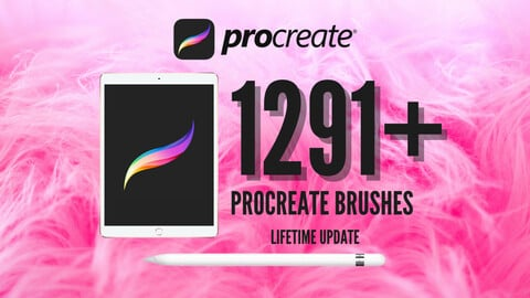 1291+ Procreate Brushes, Tattoo, Forest, Portrait, Hair, Eyebrow, Eyelash, Lashes, Makeup, Fur, Stamp and more! Entire Shop