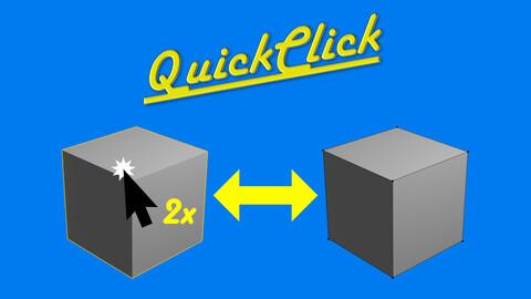 QuickClick - Blender Addon