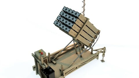 Iron Dome 3D Models