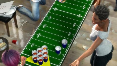 College Daze Beer Pong