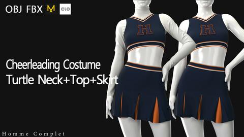 Women's Cheerleading Costume