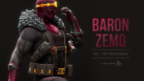 Baron Zemo - STL - 3D Printable