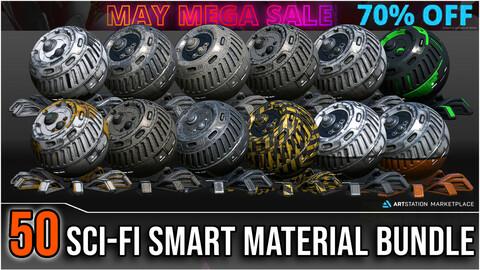 50 High Quality Sci-Fi Smart Material Bundle