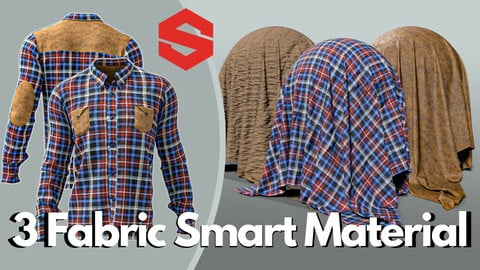 3 fabric smart material : Men's casual shirt & pants
