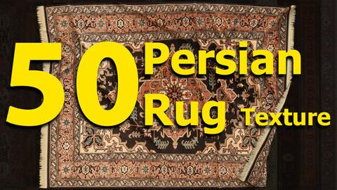 50 Persian Rug - PBR texture