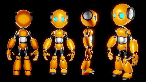 Robot Character RC02