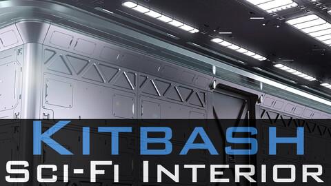 Sci Fi Interior Kitbash