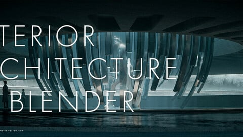 Interior Architecture in Blender