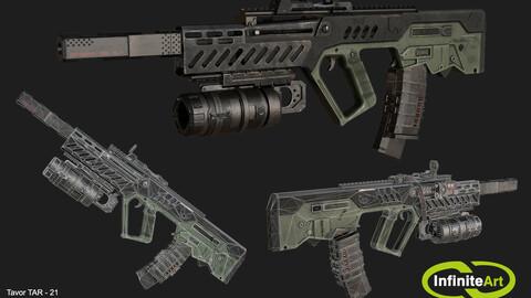 TAR-21 / Tavor Assault Rifle-21 (90 часов)
