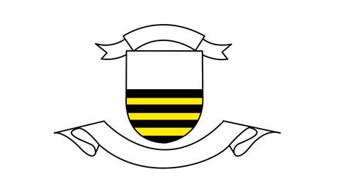 Multicolored logo