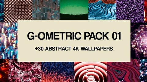 G-ometric Wallpaper Pack - 4k abstract wallpapers