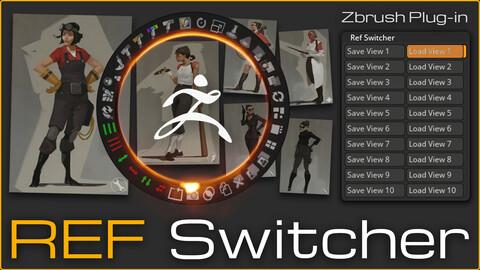 ZBrush Plugin Ref Switcher