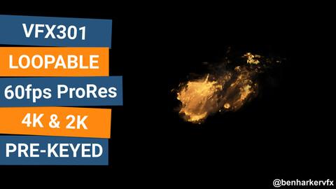 VFX301 - Loopable Fire VFX Asset