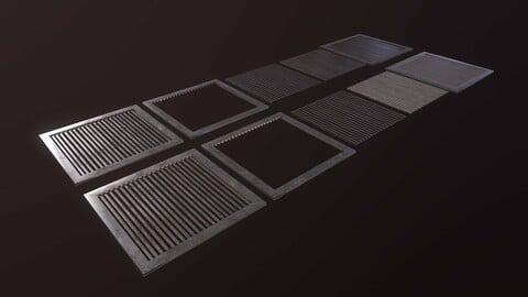 Floor Grate Small Pack [FREE]