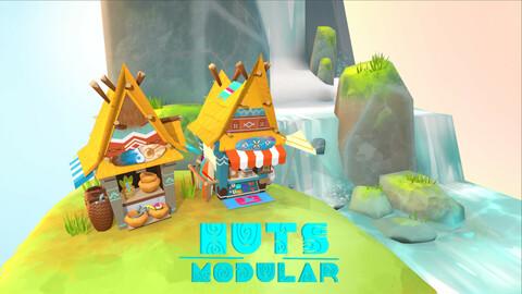 Stilized Huts