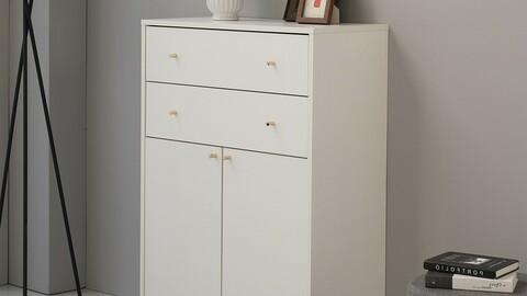 Mystic 800 3-tier cabinet 2colors
