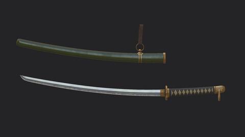 Japanese sword  Japanese  saber  Katana