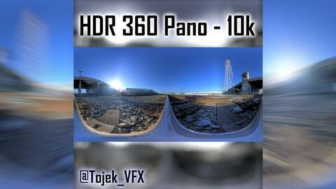 HDR 360 Panorama 1st Street Viaduct DTLA 41 side of bridge