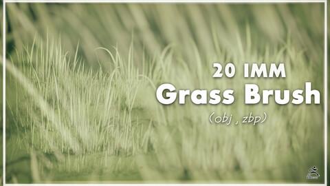 Grass Brush IMM + Obj