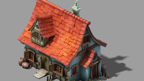 Cartoon - House 02