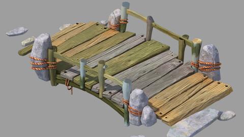 Wood Build - Bridge 05