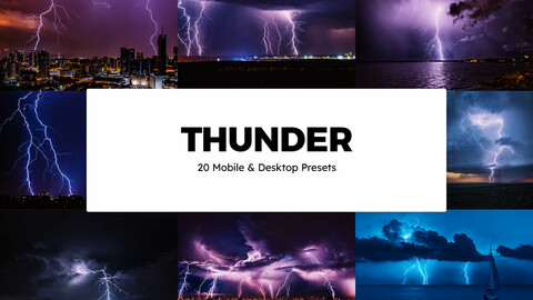 20 Thunder LUTs and Lightroom Presets