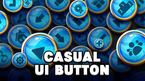 Casual UI Buttons #1