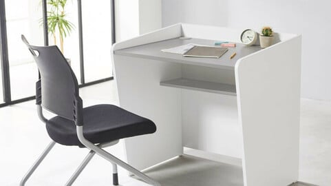 Brain academy desk and one-person reading room desk