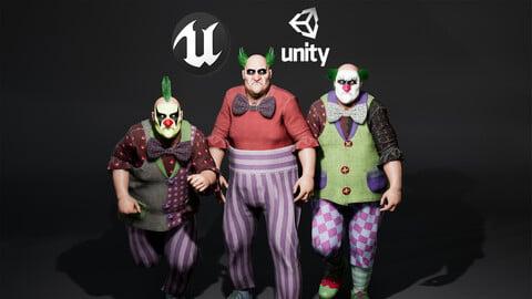 Sad ClownFaceRig