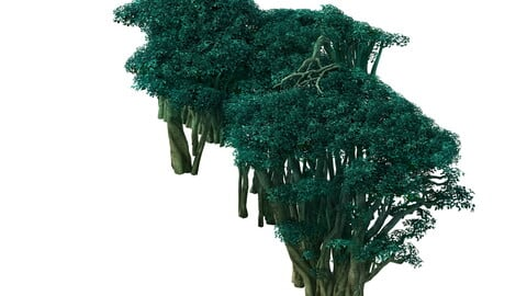 Game Model - Forest - Tree 03